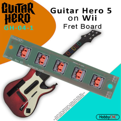 Guitar Hero 5 Wii Mechanical Switch Fret Upgrade Kit with Switches