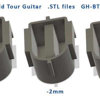 3D printable STL files for World Tour Guitar
