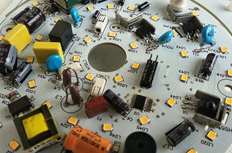 Fan Motor Control with LED