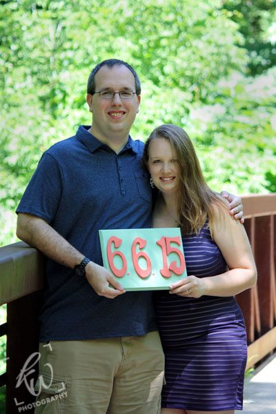 Engagement photo from Pottsgrove, PA