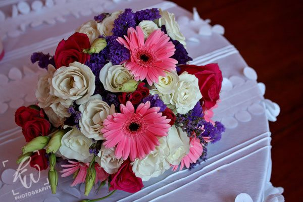 Bouquet from wedding photography session.