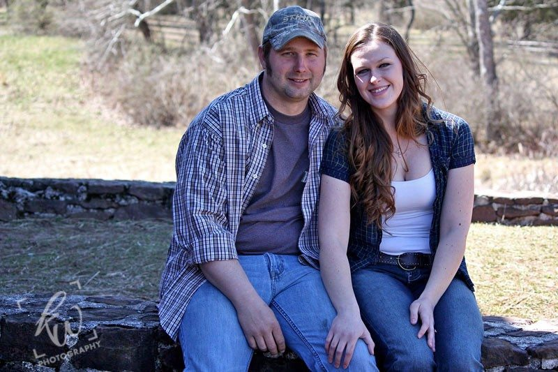 Engagement photo shoot in Birdsboro, PA.