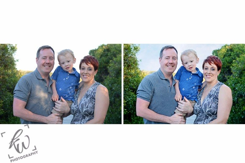 Photo retouching services to enhance photos and improve color and lighting.