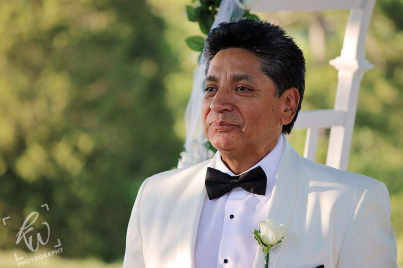 Groom waiting for his Bride - PA wedding photography.