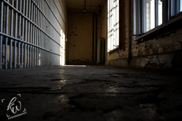 Unused inmate area of New Jersey jail.