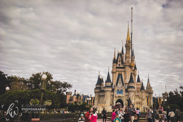 Cinderella's Castle in the Magic Kingdom.