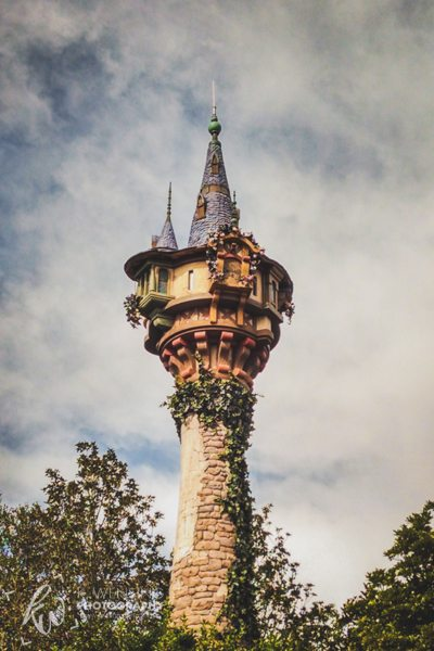 Rapunzel's tower.