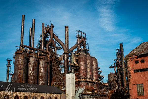 SteelStacks in Bethlehem, Pennsylvania