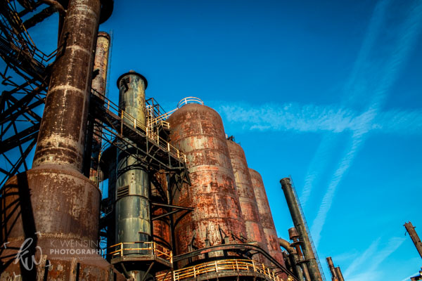 Bethlehem Steel plant in PA.