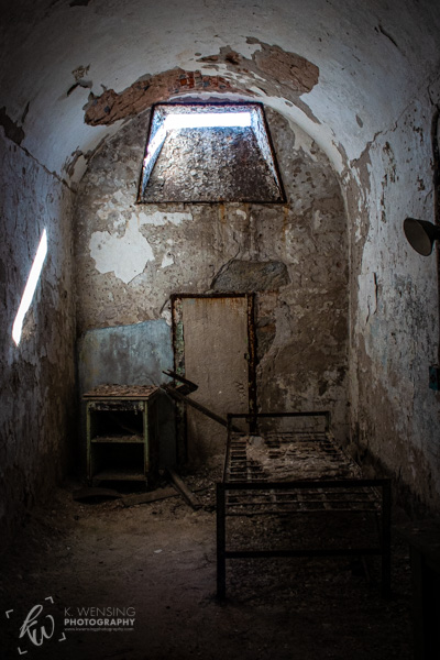 One of the cells of the penitentiary.
