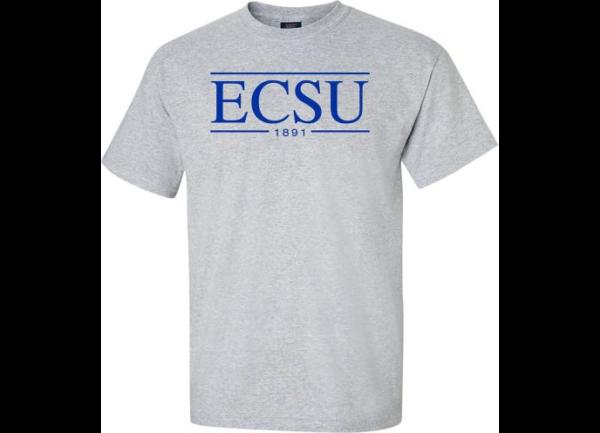 Gray ECSU T-shirt
