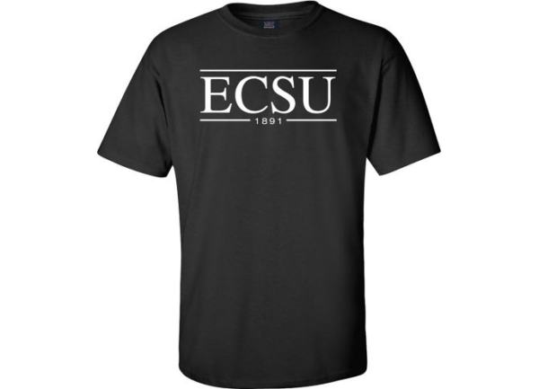 Black ECSU T-shirt