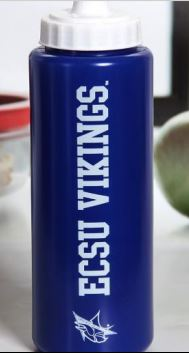 Blue-White Water Bottle