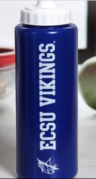 Blue-White Water Bottle