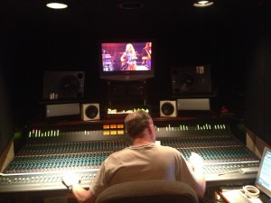 """Malcolm Harper mixing """"Sheryl Crow"""" for 4th of July """"Freedom Over Texas"""" Broadcast"""