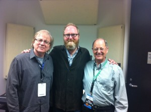 TX Recording Academy friends; Danny Jones, Eric Jarvis and Malcolm Harper at Rodeo Houston 2014.