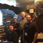 SXSW Reelsound Crew. Mixer; Steve Chadie, Monica Skinner, Greg Klinginsmith and Carl Harper.