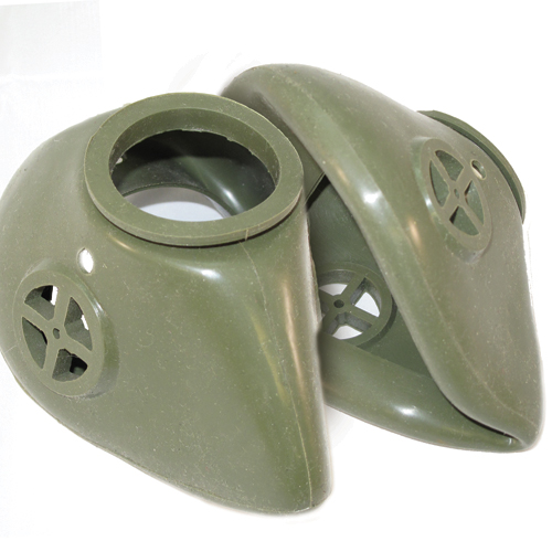 Military Gas Masks and Components