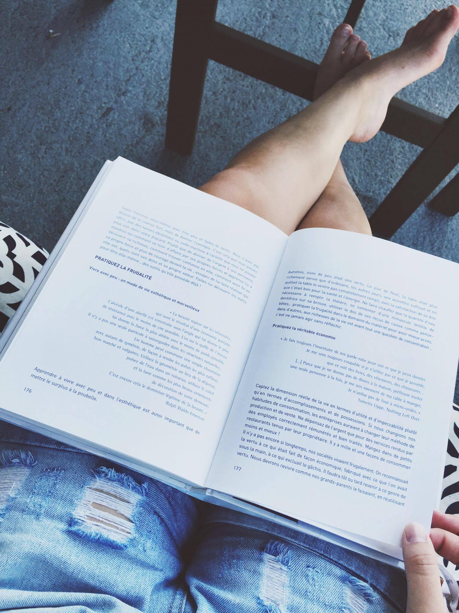 livres minimalistes