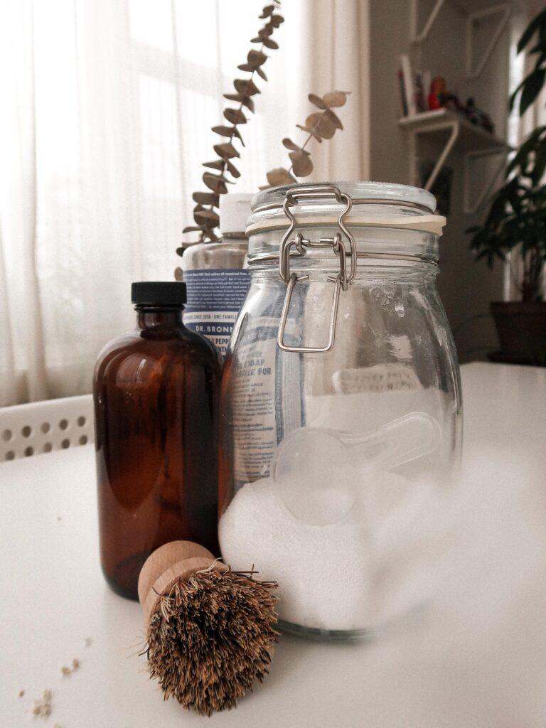 détergent percarbonate sodium liquide écologique nettoyer maison