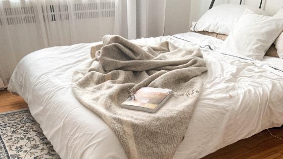 lit cooconing minimalisme bien être
