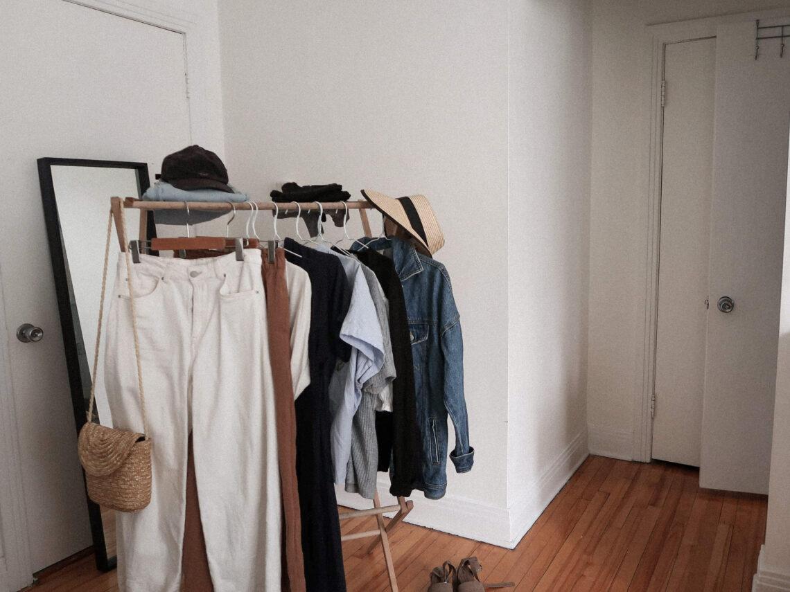 garde-robe capsule minimaliste été