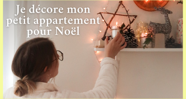 décorations noel minimaliste youtube video simple naturel