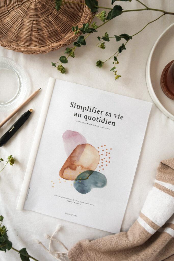 atelier simplifier sa vie au quotidien page couverture
