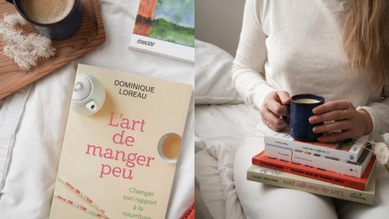 livre dominique loreau minimalisme simplicite art de manger peu défi lecture indigo