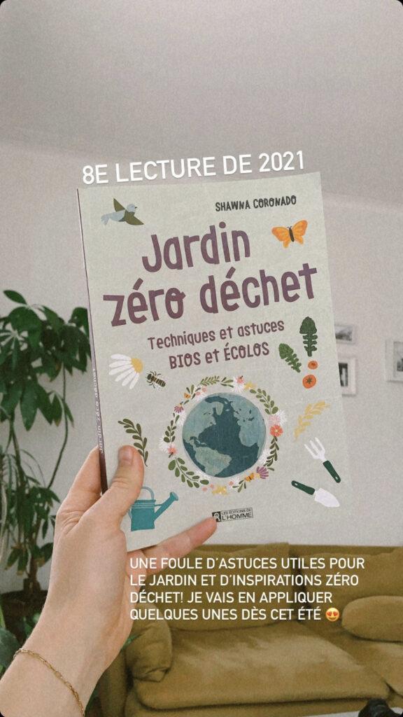 livre zéro déchet jardin défi lecture