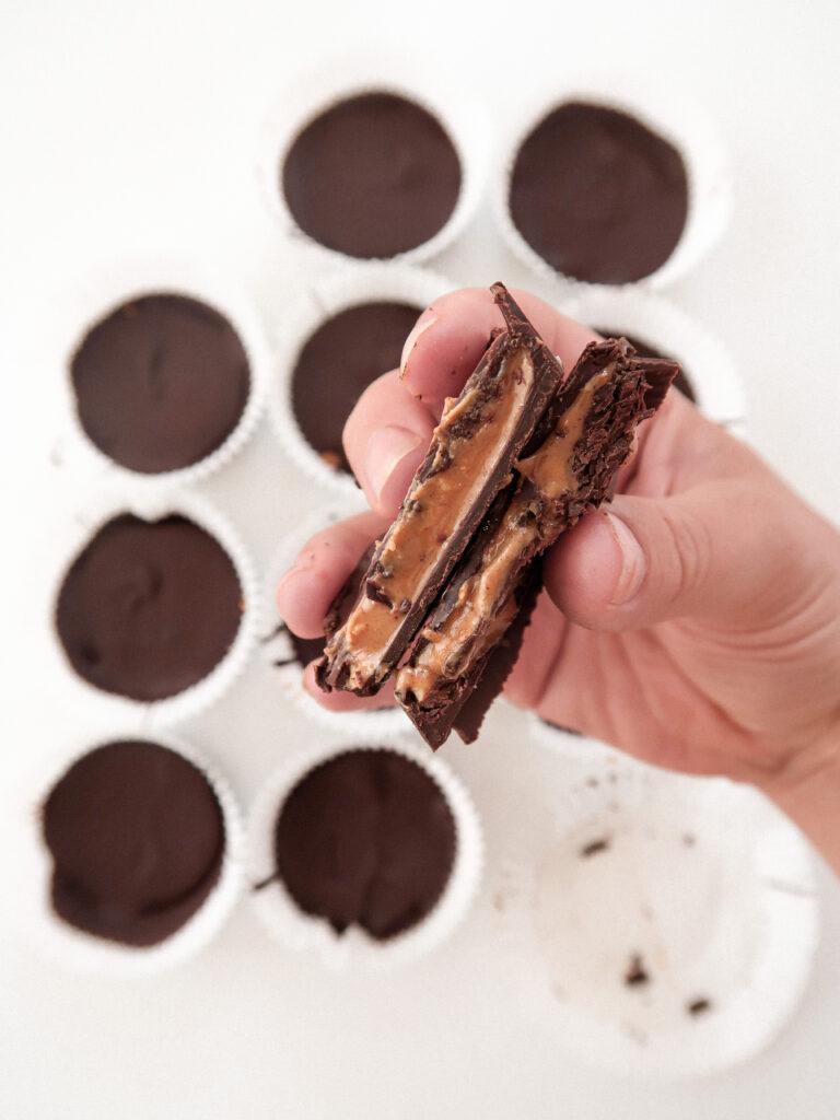 reese maison arachides chocolat dessert