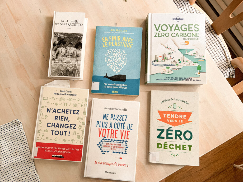 choix livres bibliotheques minimalisme simplicite zero dechet