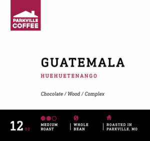 Try Parkville Coffee Guatemala Blend