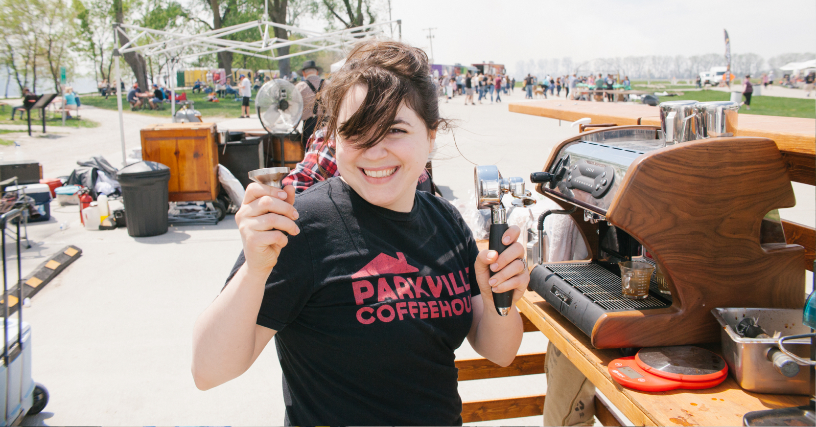 Parkville Coffee at Brewfest 2019