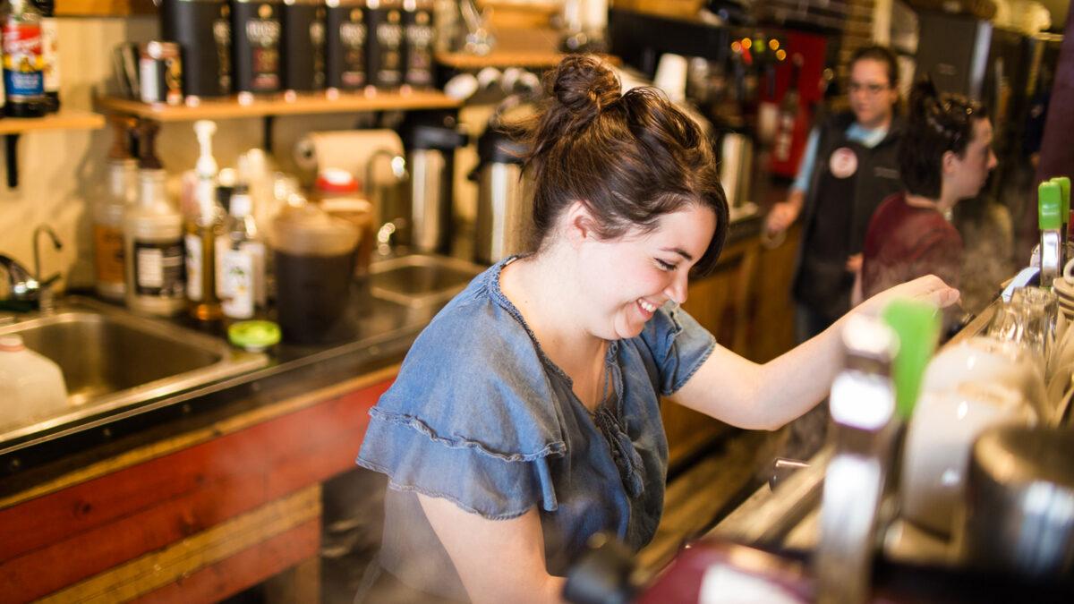 Visit Parkville Coffee on Main Street in Downtown Parkville, Missouri
