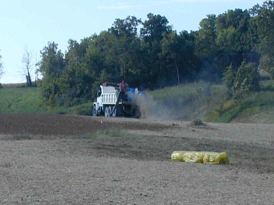 mulch erosion control practices