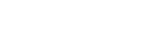 Trustline Horizontal Logo (white on transparent version) - California's Background Check for In-Home Child Care
