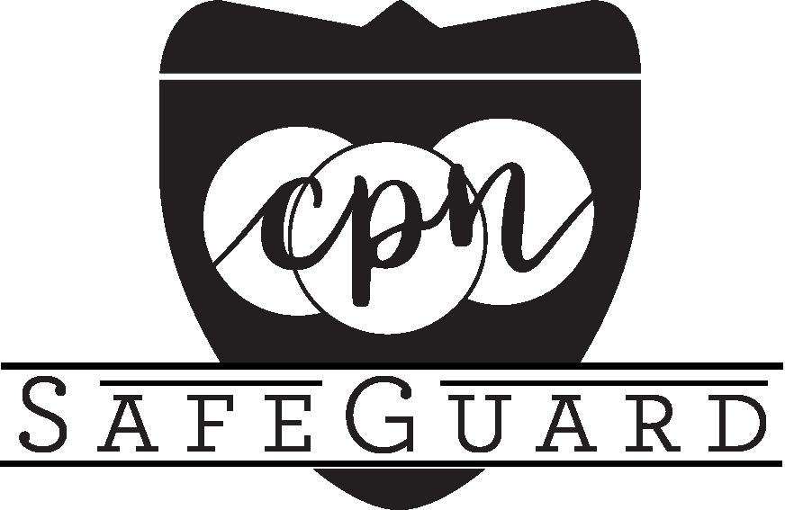 CPN SafeGuard 360-degree Background Screen from Capitol Park Nannies, Sacramento-based Nanny Agency (CPN SafeGuard Logo)