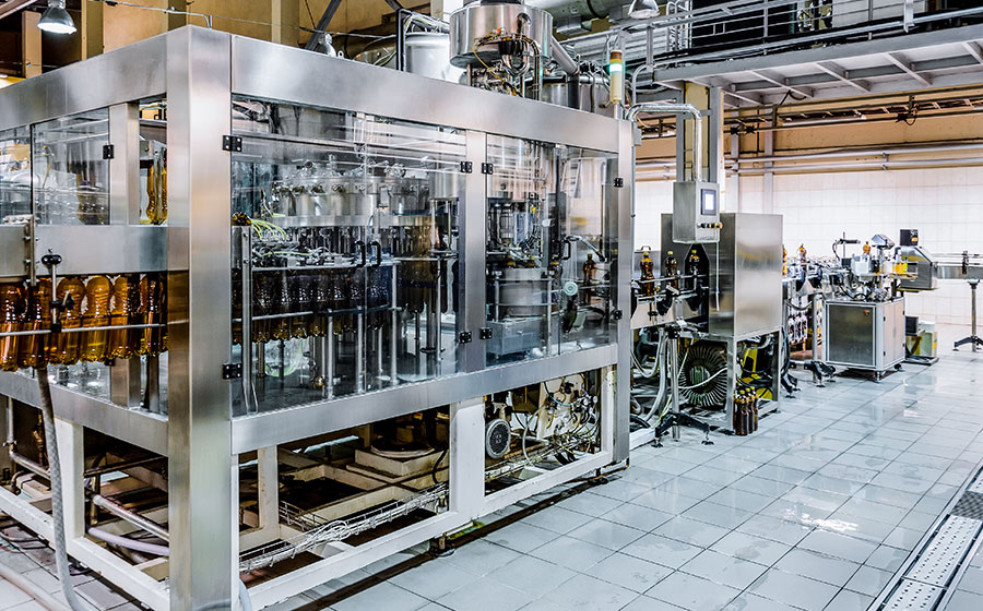 Industria productora de aceite seguro de ramos tecnicos