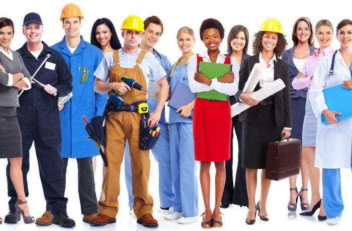 Grupo de trabajadores de derecho laboral