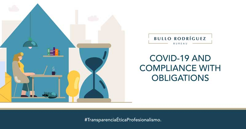 COVID 19 AND COMPLIANCE WITH OBLIGATIONS