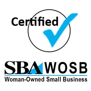 SBA certified women-owned small business