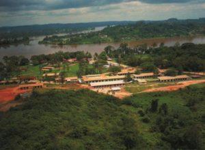 El Hospital de Lambaréné (Gabón) en la actualidad. ©Archives Centrales Albert Schweitzer Gunsbach
