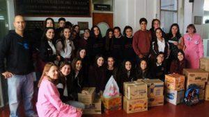 Donación al Hospital Materno Infantil - Construcción de Ciudadanía - 2014. Secundario - Sede Bolívar - Schweitzer
