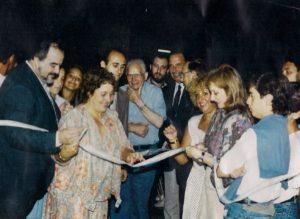 Inauguración de la Sede Bolívar - 1992 - Schweitzer