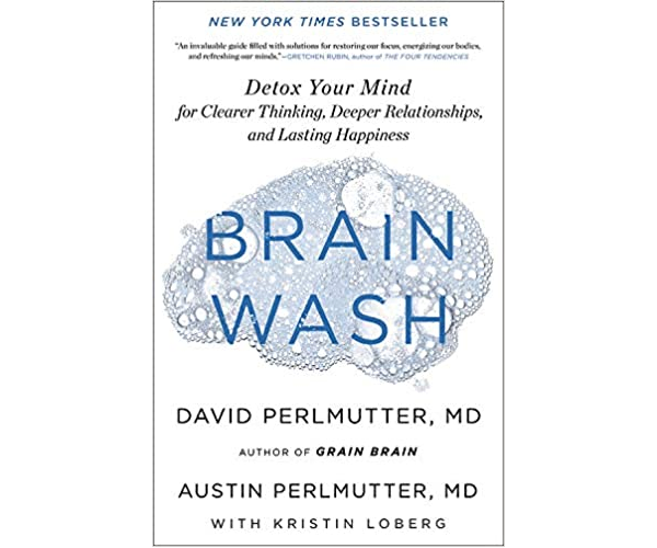 Nicholas Ayala Recommended Book: Brain Wash by David Perlmutter and Austin Perlmutter
