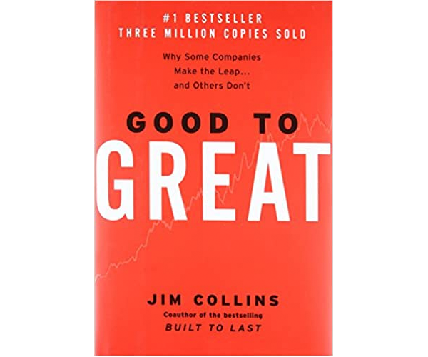 Nicholas Ayala Recommended Book: Good to Great by Jim Collins