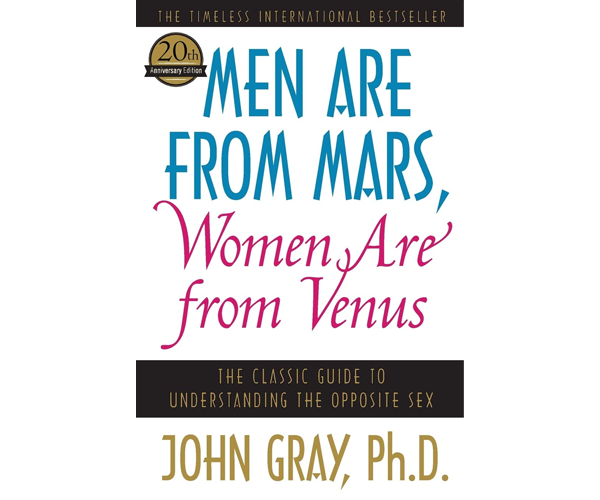 Nicholas Ayala Recommended Book: Men Are From Mars, Women Are From Venus by John Gray