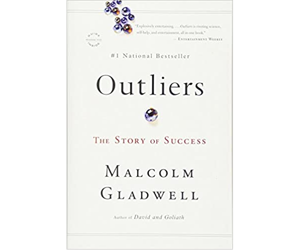 Nicholas Ayala Recommended Book: Outliers by Malcolm Gladwell