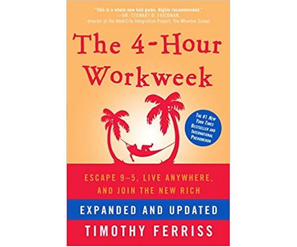 Nicholas Ayala Recommended Book: The 4-Hour Workweek by Timothy Ferriss